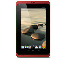 "Acer Iconia B1-720 7"""" 1.3GHz 8GB 1GB Tablet Red"