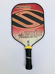 Selkirk Sport Pickleball Paddle Epic AMPED Nationals 2019 Red Midweight New