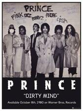 "Prince -  24"" POSTER  - Dirty Mind Promo - AMAZING PICTURE - Rare SIGNED Print"
