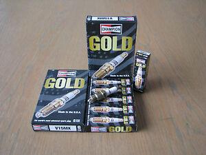 FORD FAIRLANE ZH 4.9L 5.8L ZJ ZK LTD 5.8L V15MX Champion GOLD Spark Plugs x 6