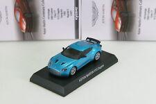Kyosho 1/64 Aston Martin V12 Zagato Blue Minicar Collection 5 Japan 2013