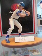 George Brett Gartlan signed autograph figurine very limited  Kansas City Royals