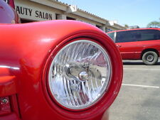 7'' ROUND CRYSTAL HEADLIGHT  FORD CAR & TRUCK 31387 early trucks 1947 to 1955