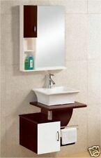 Wall Vanity Unit Solid Hardwood Hand Made M2041