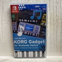 KORG Gadget Music Production Studio for Nintendo Switch - Brand New In Hand