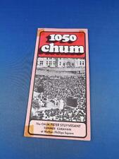 1050 CHUM RADIO STATION TORONTO TOP 30 SONGS AUGUST 1974 SUMMER CARAVAN VINTAGE