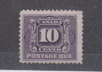 Canada 1906 10c Postage Due SGD8 MLH JK2227