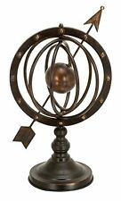 Metal Armillary On Stand Sundial, New