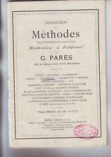 Methode saxophone - G. Parès