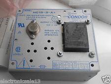 CONDOR POWER SUPPLY MODEL NO. HC15-3-A+ / POWER SUPPLY