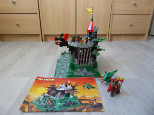 LEGO SYSTEM 6082 FIRE BREATHING FORTRESS FORTERESSE CHATEAU FORT DRAGON MOYEN AG