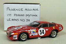 Provence Moulage 1/43 Scale Kit Ferrari Daytona Le Mans 1974 #54 Resin Model Car