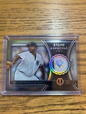 2020 Topps Tribute Stamp Of Approval Relic CC SABATHIA SOA-CCS 106/150