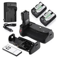 BG-E9 Battery Grip for CANON EOS 60D/60Da + 2X LP-E6 + Charger + Remote Control