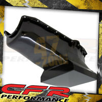1958-79 Chevy Small Block 283-305-327-350-400 Drag Racing Oil Pan - Black