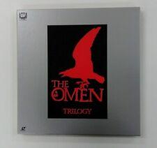 THE OMEN  TRIROGY   4LD BOX JAPAN  Laserdisc Set