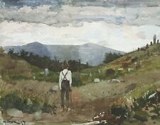 Homer Winslow Driving Cows To Pasture Print 11 x 14 #6227