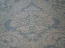 Nina Campbell Meredith Fabric Pale Aqua Blue 4 yd Viscose Linen Blend