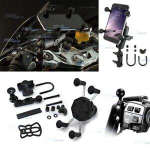 X Mount Grip Universal Phone GPS Mobile Iphone Cradle Motorcycle Bike Holder