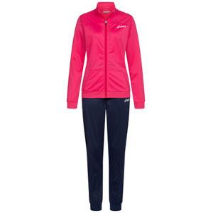 ASICS Woven Damen Freizeit Fitness Trainingsanzug 127711-8052 rosa schwarz neu