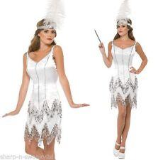 Unbranded Silver 1920s & 1930s Fancy Dresses