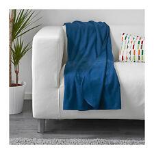 IKEA SKOGSKLOCKA Fleece Sofa Knee Bed Couch Throw Rug Blanket 130x170cm in Blue