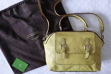Kate Spade Yellow Satchel Leather Handbag