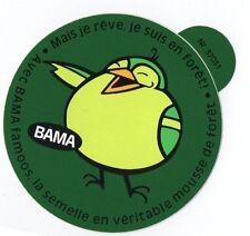 Autocollant/Sticker  BAMA Semelle en Mousse de Forêt  / Walk Forest Sole TOP !