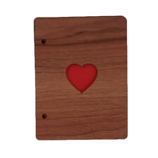 6 Inch Wooden Photo Love Album Newborn Photo Album Growing Up Photo Album CB