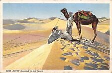 BF35661 egypt lookout in the desert chamel types  front/back scan