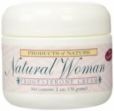 Natural Woman Progesterone Cream By Products of Nature - 2oz