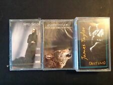 JAMES TAYLOR - 4 New Old Stock Cassette