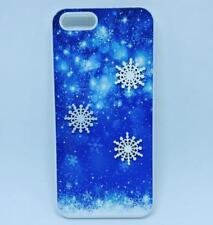 3D CUSTOM Snowflake Phone Cover for iPhone iPod Samsung 4 5 6 7 5th 6th case gen