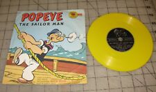 1950s/60s POPEYE THE SAILOR MAN / Scuffy the Tugboat Golden Record w/Sleeve