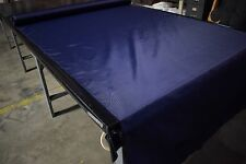 "420D Dark Navy 60"" W Pack Cloth Fabric Outdoor Water Repellent Dwr By The Yard"