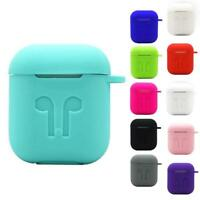 Silicone Case Cover Skin Earplugs Protector Accessory Anti-Lost Rope For Airpods