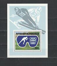 Haute Volta  bloc  jeux olympiques Innsbruck  1975  num: BF 5AK **