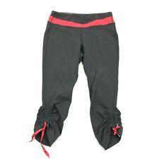 LUCY Powermax Hatha Cropped Leggings Women's Size Small Capri Pants Pull On Yoga