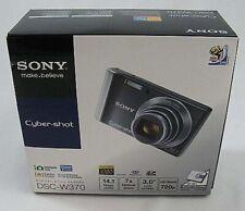 Sony Cyber-Shot GUNMETAL DSC W370 14.1 MP Digital Camera AS IS