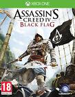 ASSASSINS CREED 4 Negro FLAG ~ Xbox One (Nuevo y Sellado)
