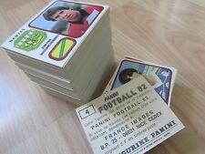 PANINI FOOTBALL 82 - 1982 - Vente à l'unité de stikers originaux neufs