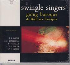 Swingle Singers/going BAROQUE-de Bach aux BAROQUES-vivialdi (NUOVO!)