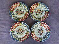 """Pier 1 Della Ceramiche Salad Plates 8.75"""" Set of 4"""