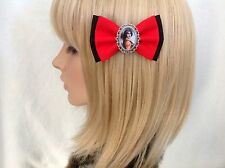 Rocky horror picture show Tim Curry hair bow clip rockabilly pin up girl vintage