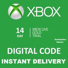 14 DAY XBOX LIVE GOLD TRIAL MEMBERSHIP