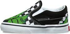 Vans Classic Slip On Toddler Marvel Hulk & Checkerboard Canvas Skate Shoes 5 US