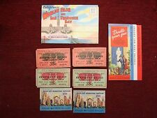 VERY NICE GROUP OF ITEMS FROM 1939 SAN FRANCISCO WORLD'S EXPOSITION -FREE SHIP
