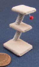 1:12 échelle maison de poupées miniature tan chats jouet conservatoire accessoire animaux