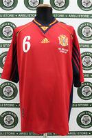 Maglia calcio SPAGNA HIERRO TG XL 1998 shirt trikot camiseta maillot jersey
