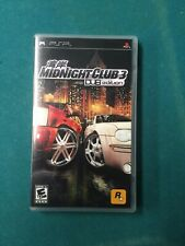 Midnight Club 3 Dub PSP Case & Manual - No Game